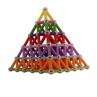 磁力棒玩具儿童益智磁性片积木宝宝磁铁拼接装吸铁石散装男女孩子
