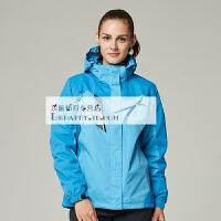 户外三合一冲锋衣 男女款秋冬季防风防水登山情侣两件套