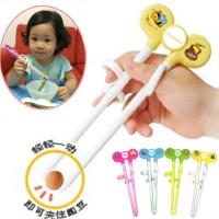 儿童练习筷 幼儿卡通学习用环保塑料筷子 宝宝益智纠正筷