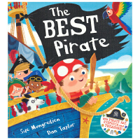 The Best Pirate 小海盗保罗 自信心培养绘本 3-6岁 含海盗帽制作手工活动教程 亲子互动儿童英语图画书