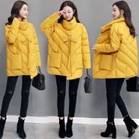 宽松不规则棉衣冬装外套棉袄女士百搭年冬季韩版新款时尚