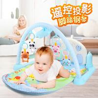 健身架器音乐宝宝0-1岁脚蹬琴婴儿玩具脚踏钢琴躺着的3-6-12个月