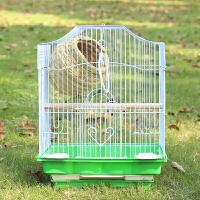 虎皮鹦鹉鸟笼大号不锈钢电镀笼子八哥玄凤牡丹鹦鹉笼鸽子笼