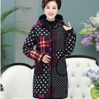新款中老年女装气质中年妇女中长款加厚棉袄妈妈冬装棉衣外套