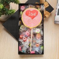 【中秋包邮】汉馨堂 棒棒糖 80克圆形千纸鹤糖果礼盒装 创意手工婚庆水果零食