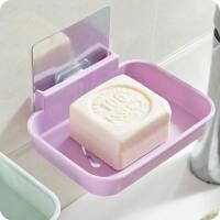 2个装泰蜜熊无痕沥水肥皂盒创意壁挂浴室香皂架免打孔卫生间肥皂架置物