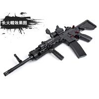 电动连发水弹枪下供弹M4绝地求生吃鸡抢M416模型玩具枪