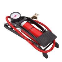 高压便携打气筒电动摩托车脚踩充气筒脚踏