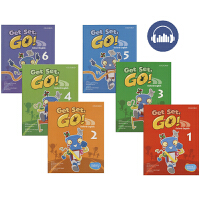 Get Set Go Book 1-6 Oxford English 牛津幼儿英语教材1-6阶6册 学生用书 英文原版