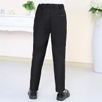 儿童黑色西裤长裤子钢琴演出服童装男孩西装裤