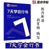 墨点字帖:钢笔硬笔书法字帖 成人速成练字帖7天学会行书