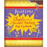 《查理和巧克力工厂》精装立体书(罗尔德・达尔礼品书)英文原版 Charlie and the Chocolate Fa