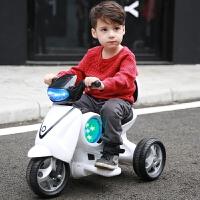 【支持礼品卡】小孩玩具宝宝三轮车小牛玩具车儿童可坐人男孩充电动摩托车1-3岁g4i