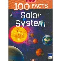 100 Facts Solar System 100个事实 太阳系 儿童英语科普读物 英文原版进口图书