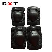 夏季越野摩托车骑士护具骑行防摔护膝护肘装备短款护具四件套