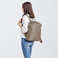 韩版简约气质尼龙双肩包女包休闲旅行背包学院风书包