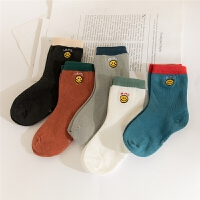 儿童袜子春秋2-3-4-5岁男童中筒袜