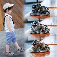 �和�鞋男童包�^�鲂�����夏季�底沙��