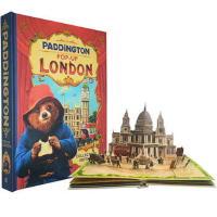 【英文原版】 Paddington Pop-Up London 帕丁顿熊在伦敦 立体书