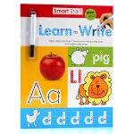 刷刷笔可重复擦写Smart Start Wipe-Clean Workbook Learn to Write学习写作