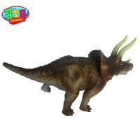 哥士尼儿童新款仿真动物恐龙大象模型塑胶男孩玩具3-6岁半1-2周