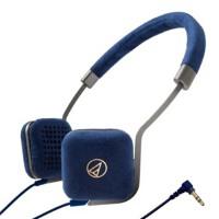 铁三角 UN1 ATH-UN1 轻便携头戴式耳机 时尚潮流的绒面皮革