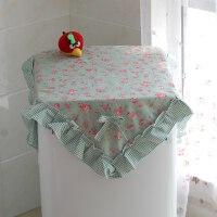 洗衣机罩防尘盖布上开通用防�鸩�轮滚筒全自动海尔小天鹅多用盖巾