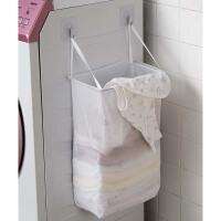 家用布艺脏衣篮 壁挂粘贴式衣服娄洗衣篮 装内衣内裤收纳筐脏衣篓