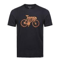 哥伦比亚短袖男 2019夏季新款跑步训练健身速干衣透气舒适休闲圆领短袖T恤PM3441 XH