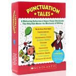 学乐 Scholastic Punctuation Tales 9册盒装 英文原版 标点符号的使用 趣味认知故事集 教