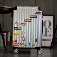 韩版旅行箱男女拉杆24寸行李箱万向轮拉杆箱包20寸登机托运箱q 镜面银灰色 20寸(可登机)