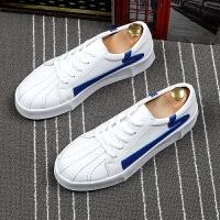 青年潮流男鞋板鞋系带休闲鞋韩版夏季透气小白鞋厚底增高鞋