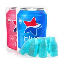 印尼进口零食 恬恬思蓝色可乐软糖50g 可乐味软糖QQ糖果休闲小吃