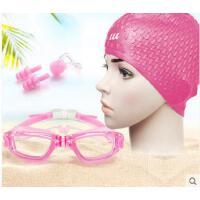 泳镜女近视高清防水男士大框游泳眼镜有度数成人游泳装备套装