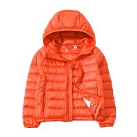 儿童轻薄羽绒服短款男童女童中大童小孩宝宝童装秋冬外套