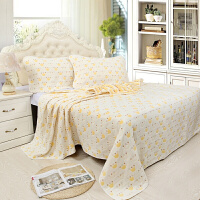 纯棉六层纱布不含荧光剂宝宝空调被毛巾被 盖毯柔软透气