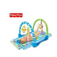 Fisher Price费雪 宝宝爬行垫 婴儿踢踏爬行地毯 儿童爬行毯P5331 102*43cm