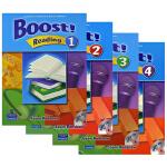 培生朗文原版进口中学英语教材 阅读强化训练Boost Reading L1-L4级 学生用书+CD