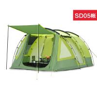 户外帐篷两室一厅家庭野营3-4-5-6-8-10多人大防雨大帐篷SN3142