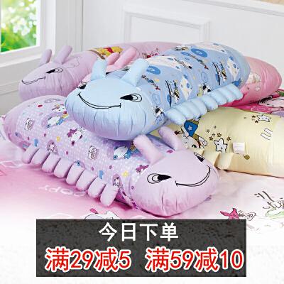 新年礼物纯全棉布毛毛虫布娃娃睡觉长抱枕头床上公仔午睡腰枕靠垫 发货周期:一般在付款后2-90天左右发货,具体发货时间请以与客服协商的时间为准