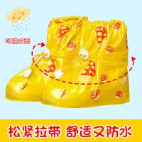 儿童雨鞋套防滑加厚学生雨鞋男女防雨鞋套耐磨鞋套防雪靴套
