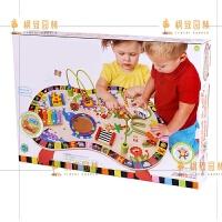 婴幼儿童宝宝玩具台1-2周岁多功能游戏桌0-3-4岁男孩女孩早教 多功能游戏桌