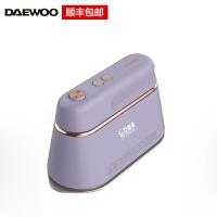 韩国大宇(DAEWOO)手持挂烫机熨烫机家用小型蒸汽熨斗便携式平烫熨衣服神器 029 灰藕紫
