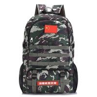 迷彩双肩包女军迷旅行背包男特种兵户外登山包大容量战术背包书包 50升