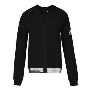 adidas阿迪达斯2018女子JKT BOS BOMBER梭织外套CY9855