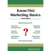 【预订】Knowthis: Marketing Basics, Third Edition