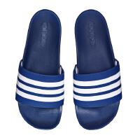 adidas阿迪达斯男子拖鞋一字拖沙滩拖休闲运动鞋CG3425