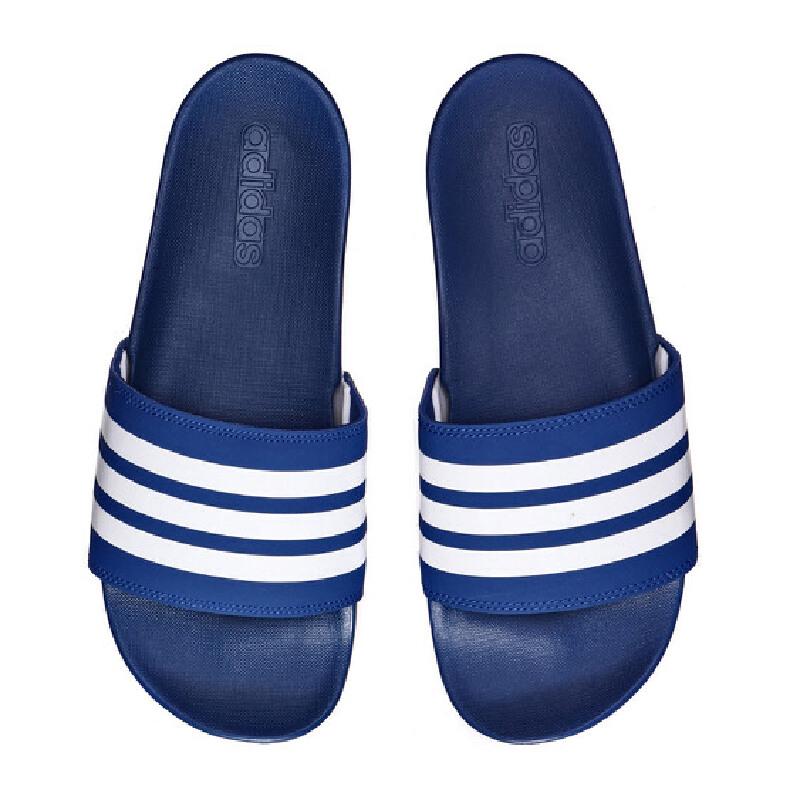 adidas阿迪达斯男子拖鞋一字拖沙滩拖休闲运动鞋CG3425 活力出游!满199-10!满300-40!满600-80!