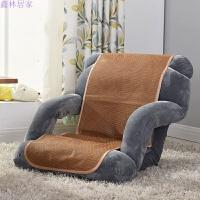 懒人沙发 扶手榻榻米小沙发椅单人折叠沙发床上靠背椅