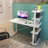 电脑桌简约台式家用小书桌书架组合简易办公写字台学生儿童学习桌